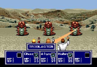 Screenshot Thumbnail / Media File 1 for Phantasy Star IV (USA) [Bug Fix by Sixfortyfive v1.0] (Level 99 Fix)